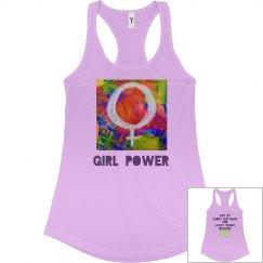 Junior Fit Girl Power tank