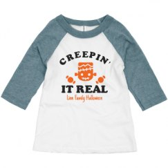 Toddler 3/4 Sleeve Raglan Tee