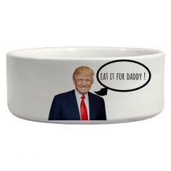 Donald Trump pet bowl