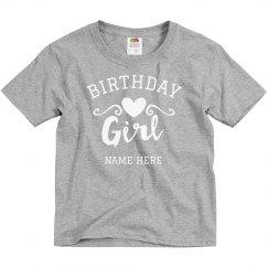 Birthday Girl Custom Name