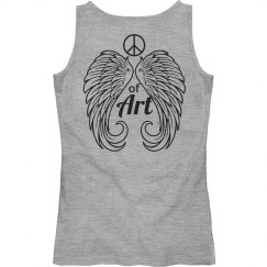 Peace sign of art tank