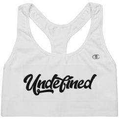 Undefined Sports Bra