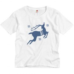 Reindeer Toddler Tee Xmas