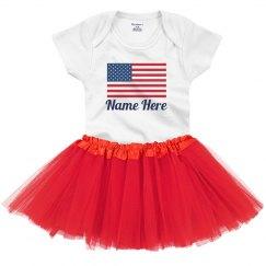 Custom 4th of July Baby