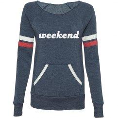 """Old School"" Weekend Sweatshirt"