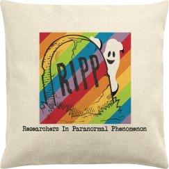 Rainbow RIPP Throw Pillow Cover