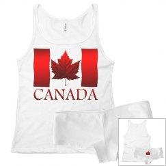 Canada Flag Underwear Set