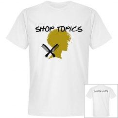 SHOP TOPICS WHITE TEE