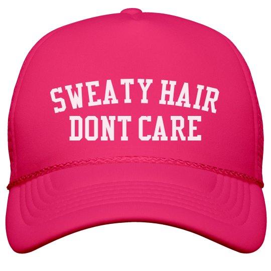 0e72c7526 Sweaty Hair, Dont Care Runner