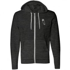 Unisex Safety Pin Hoodie