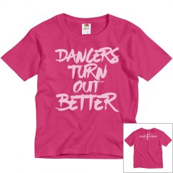 Youth Dancers Turn Out Better T-Shirt
