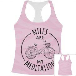 Girls Biking Racer Top