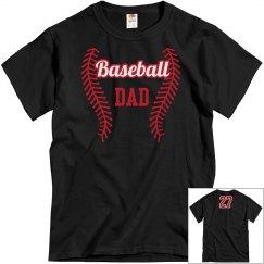 Baseball Dad tee