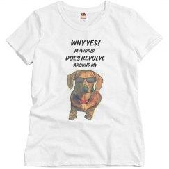 My Dachhund is My World