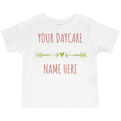Custom Daycare Shirt for Kids