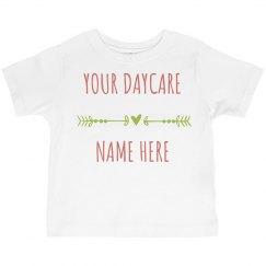 Custom Daycare Shirt for Kids