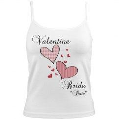 Valentine Bride Cami