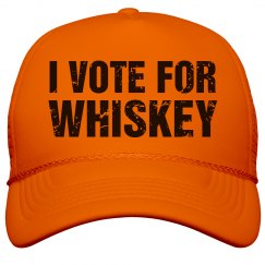 Neon Vote For Whiskey