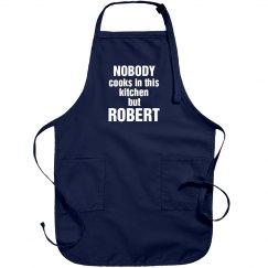 Robert is the cook!