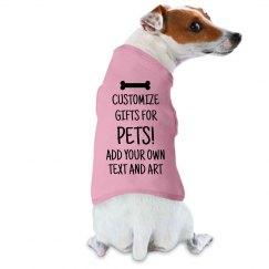 Customize Pet Gifts