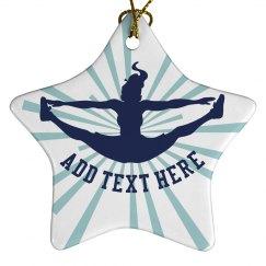 Cheerleader Ornament
