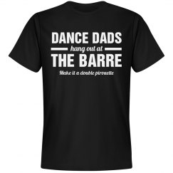 Funny Ballet Dance Dad at Barre
