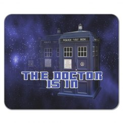 The Doctor Police Box Mouse Pad