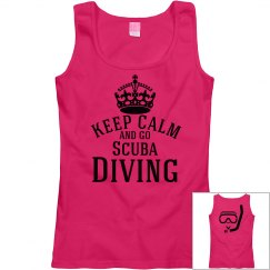 Keep calm-go Scuba Diving