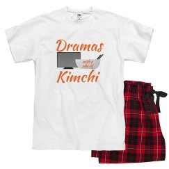 Dramas with a Side of Kimchi PJ Set