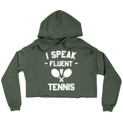Tennis is my First Language
