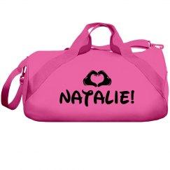 Love Cheer Girl Custom Cheerleader Bag