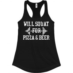 Squat for Pizza & Beer