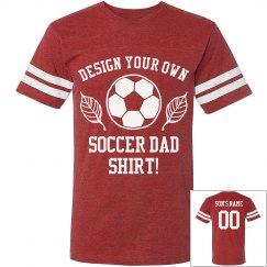 Custom Soccer Dad Jersey