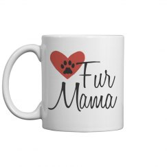 Fur Mama Mother's Day Pet Mug