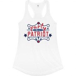 Patriotic Partier Tank