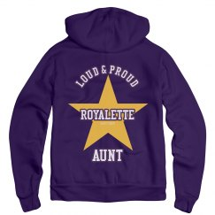 Royalettes Aunt no art on front of jacket
