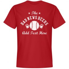 Custom Adult Co-Ed Softball Team