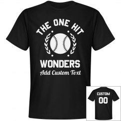 Custom Coed Softball One Hit Wonder