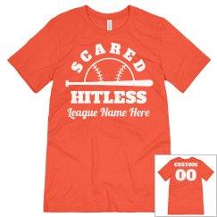 Scared Hitless Custom Softball Team