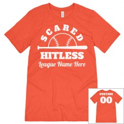 Scared Hitless Custom Softball Team