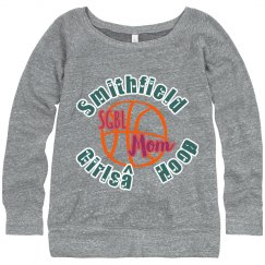 Girls Hoops Mom Sweatshirt