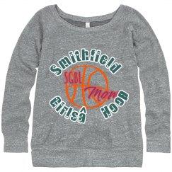 Girls Hoops Mom Sweatshirt