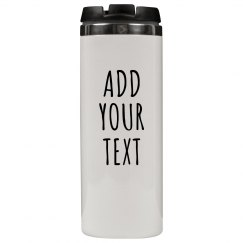 Customizable Travel Mug Tumbler