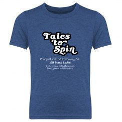 PCPA 2018 Recital T-shirt - Tales to Spin