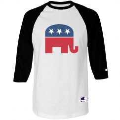 Republican baseball tee