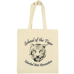 Canvas Tote Bag with Logo