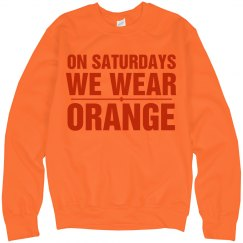 Saturdays Orange