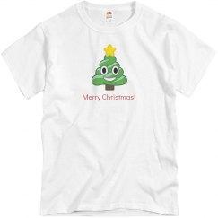 Christmas Poop Tree pink