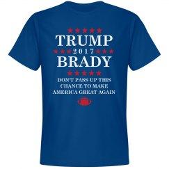 Trump and Brady 2017