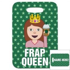 Frap Queen Cheer Bag Tag